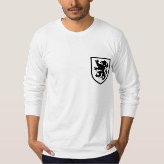 Camisa de manga larga del escudo de armas