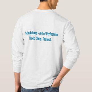 Camisa de manga larga del logotipo del club de