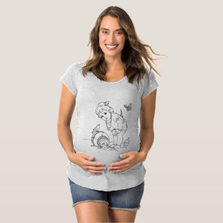 camisa de maternidad