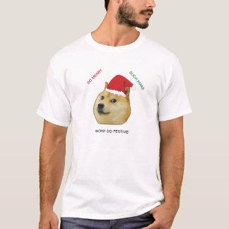 Camisa de Meme del dux del navidad
