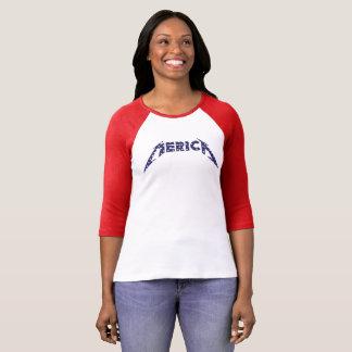 'Camisa de Merica en la fuente de la banda - azul Camiseta