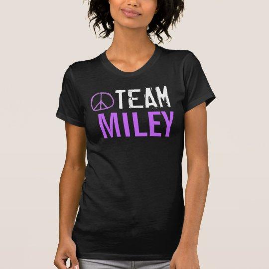 Camisa de Miley del equipo