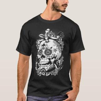 Camisa de moda de la diversión del cráneo