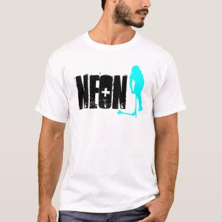 Camisa de neón del azote