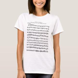 Camisa de no. 5 de la sinfonía de Beethoven