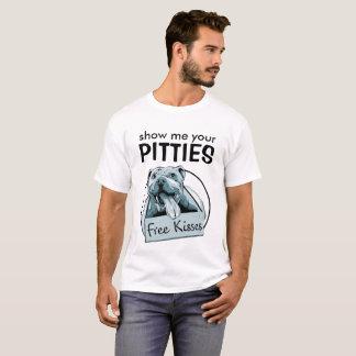 Camisa de Pitbull - muéstreme su Pitties