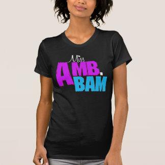 """Camisa de """"Srta. Amb.Bam"""""""