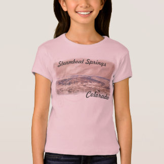 Camisa de Steamboat Springs de los chicas