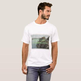 Camisa de Washington del lago rock