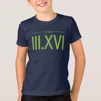Camisa del 3:16 de Juan de los niños