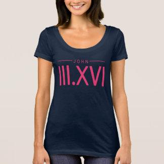 Camisa del 3:16 de Juan - la camiseta gráfica de