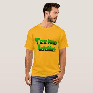 Camisa del adicto 2 a Techno