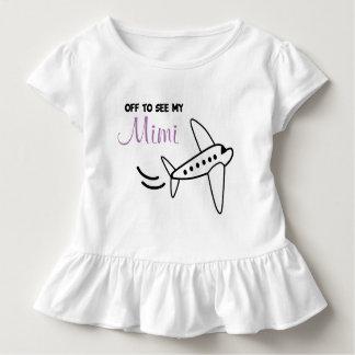 Camisa del aeroplano - mida el tiempo para un