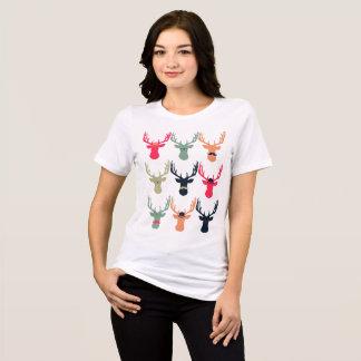 Camisa del ajuste cómodo de los ciervos del