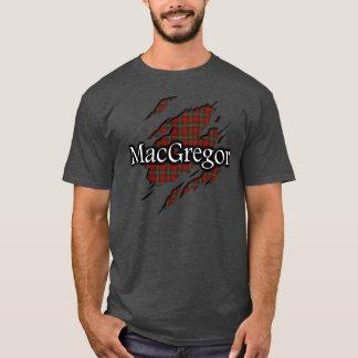 Camisa del alcohol del tartán de MacGregor del