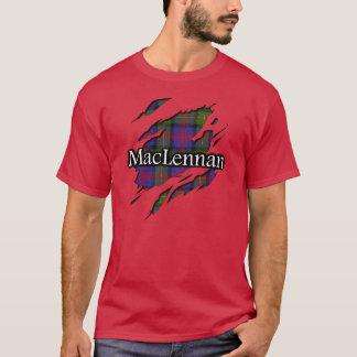 Camisa del alcohol del tartán de MacLennan del