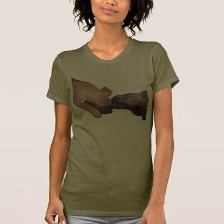 Camisa del amor adolescente