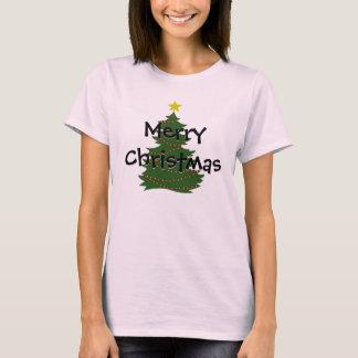 Camiseta Camisa del árbol de navidad del autismo - luz