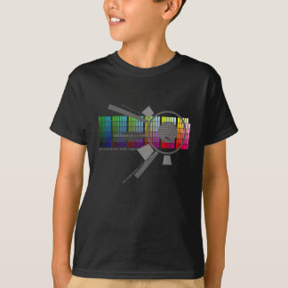 Camisa del arco iris de Digitaces