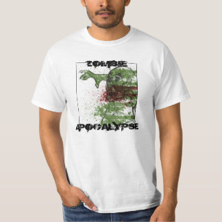 Camisa del arte de la apocalipsis del zombi