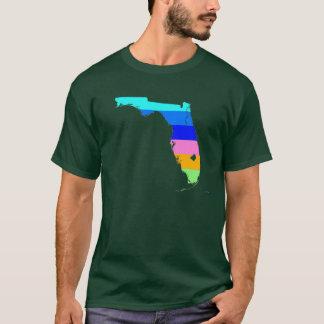 Camisa del arte pop de la Florida del CYCAD