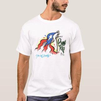 Camisa del bandera del bonita de Sabor Boricua