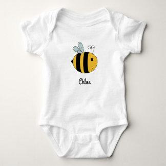 """""""Camisa del bebé de la abeja del bebé"""" Body Para Bebé"""