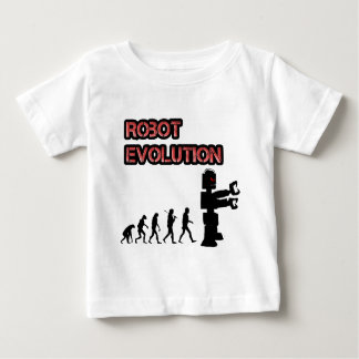 Camisa del bebé de la evolución 2 del robot