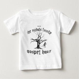 Camisa del bebé de TNFGH