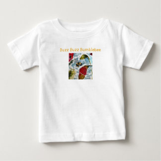 Camisa del bebé del abejorro del zumbido