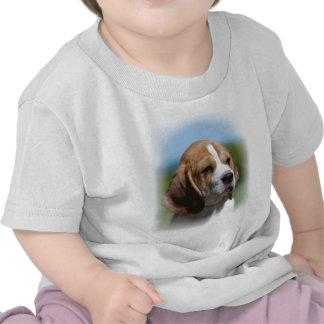 Camisa del bebé del perrito del beagle