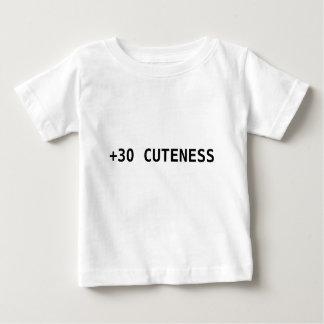 """+Camisa del bebé del RPG del Cuteness 30"" Camiseta De Bebé"