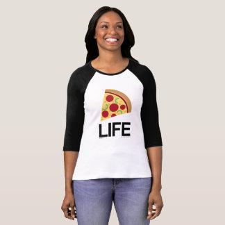 Camisa del béisbol de Emoji Longsleeve de la vida