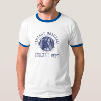 Camisa del béisbol de la fantasía