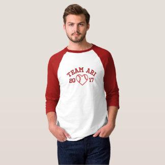 Camisa del béisbol de los hombres de Ari del