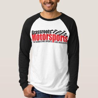 Camisa del béisbol de los hombres del Motorsports