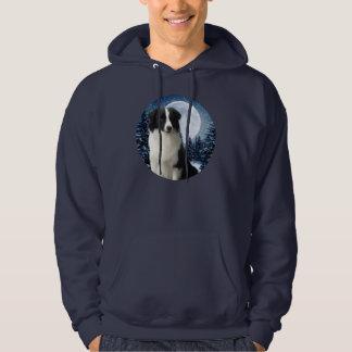 Camisa del border collie del invierno
