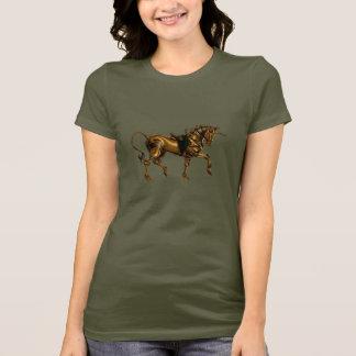 Camisa del bosquejo del unicornio de Steampunk