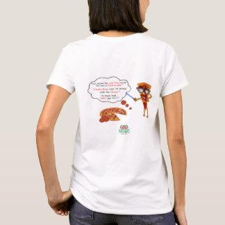 Camisa del caballero de la pizza de la ventaja de