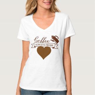 Camisa del café