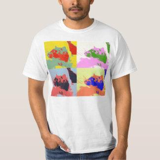 camisa del café express del popart