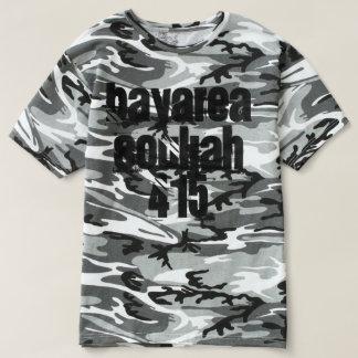 Camisa del cansancio del arbolado del lema de
