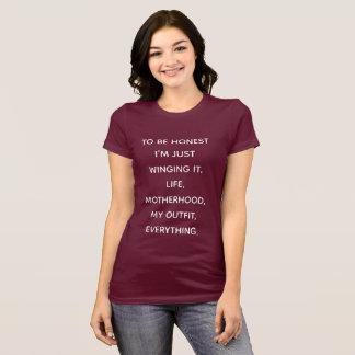 camisa del caos para la maternidad