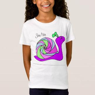 Camisa del caracol para los chicas