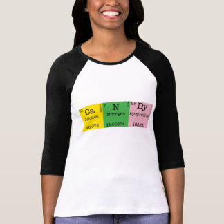 Camisa del caramelo del elemento