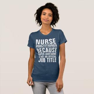 Camisa del cargo del médico de la enfermera