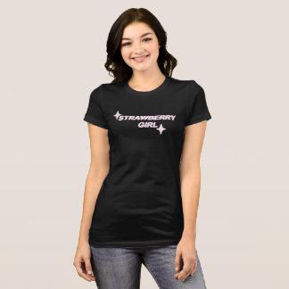 Camisa del chica de la fresa