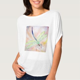 Camisa del círculo de Flowy de las mujeres de la