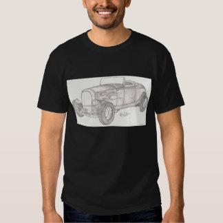 Camisa del coche de carreras