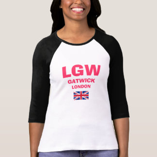 Camisa del código del aeropuerto de LGW Gatwick